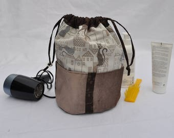 toiletry bag unique and original fabric
