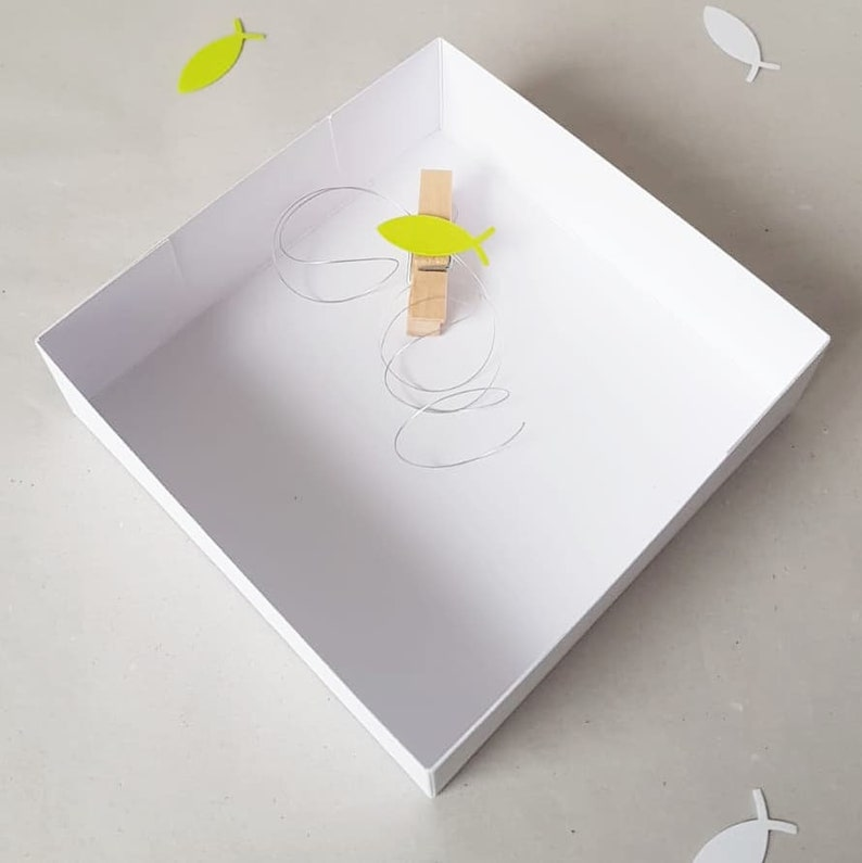 Cash gift packaging cash gift communion gift gift gift idea gift box gift box gift wrap chisty green fish