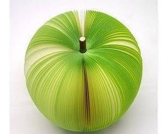 Block Notes Memo Fruit Apple green notebook