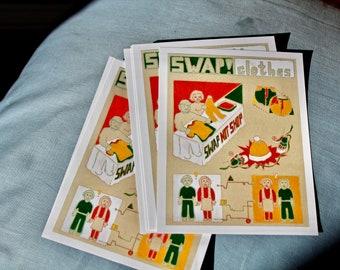 Swap! Clothes - Set of Postcards - DIY Ethic - Children's ABCs Book