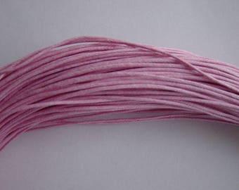 5 m 1 mm waxed cotton thread