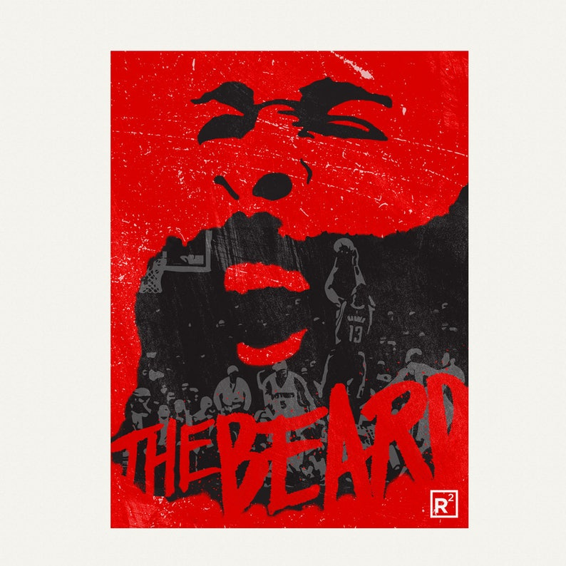 73d5fdf0b51d James Harden The Beard Digital download for wallpaper and