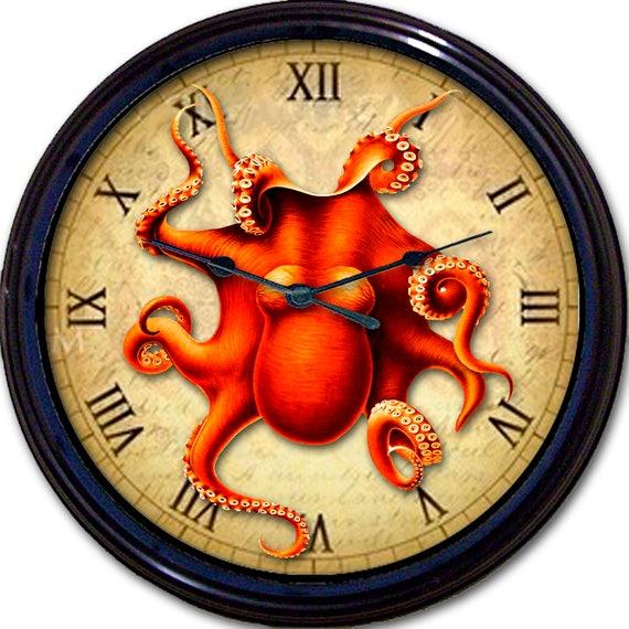 "Steampunk Hibbard /& Ajax Binoculars Wall Clock Victorian Gothic Vintage 10/"" New"