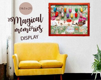 Magical Memories Display | Magic Band Display | Pin Display | Disney Display | Disney Home Decor