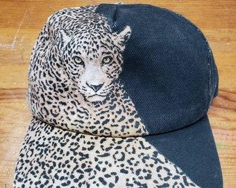 Vintage leopard hat  b7bd9e91b5c1