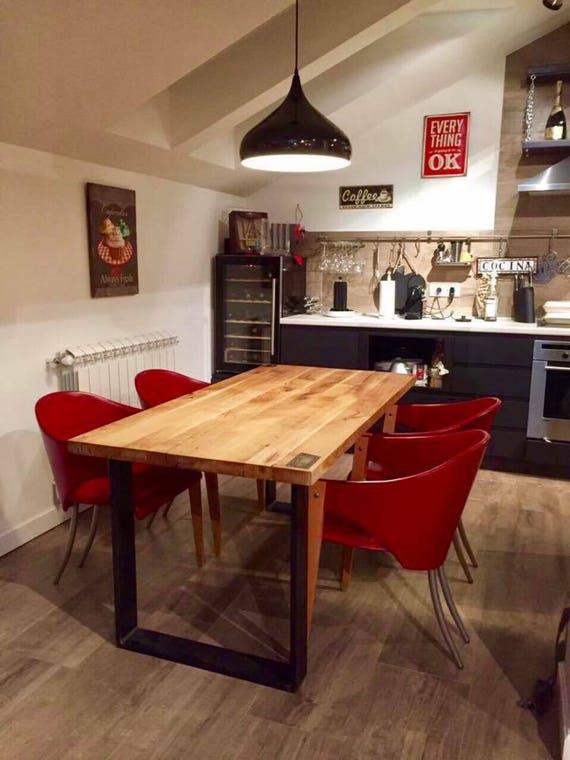 set von zwei metall tischbeine geformte u eisen tischbeine. Black Bedroom Furniture Sets. Home Design Ideas