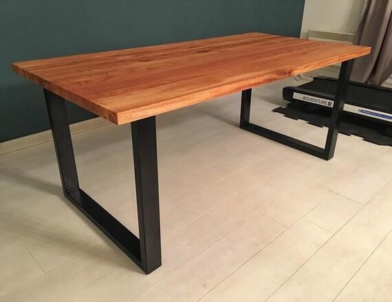 set von zwei metall tischbeine geformte u eisen tisch. Black Bedroom Furniture Sets. Home Design Ideas