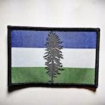 Cascadia Patch | Cascadia Flag. Pacific Northwest Patches. PNW Pride. Free Cascadia. Oregon. Washington. British Columbia.
