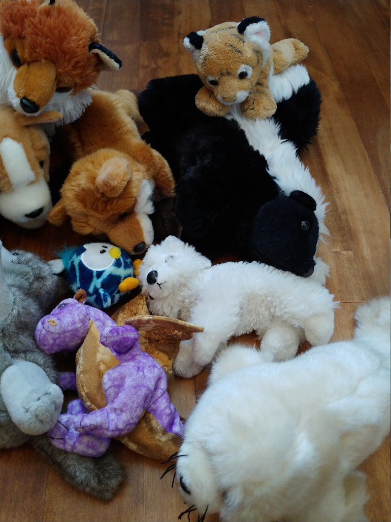 Plush lot from the 2000s