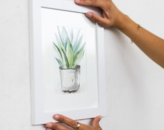 Small Agave Painting