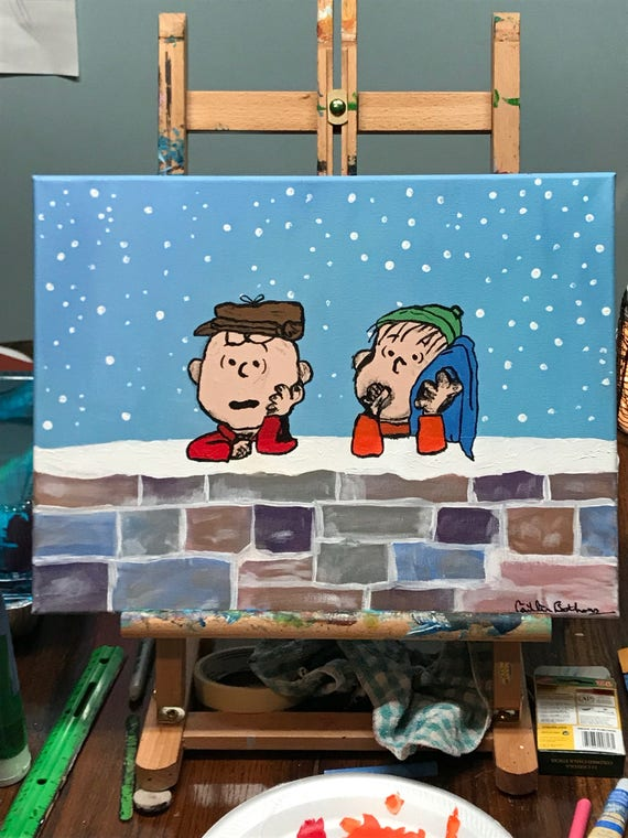 Merry Christmas Charlie Brown.Merry Christmas Charlie Brown Wall