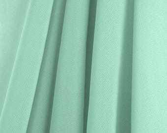MINT GREEN Chiffon Drapes Panels For Wedding Events Decor Backdrop Draping Curtains