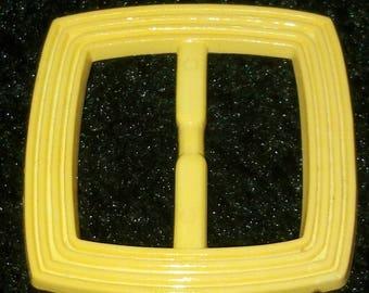 boucle ceinture coulissante passe ruban plastique vintage e87c38d5a79