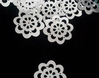 10 appliques large sequin flowers embellishments scrapbooking