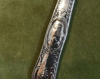 Antique Coin Silver Victorian Fruit Knife