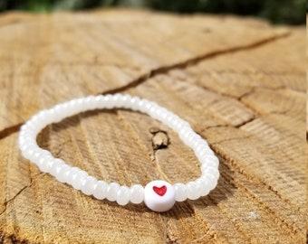 Minimalist heart bracelet