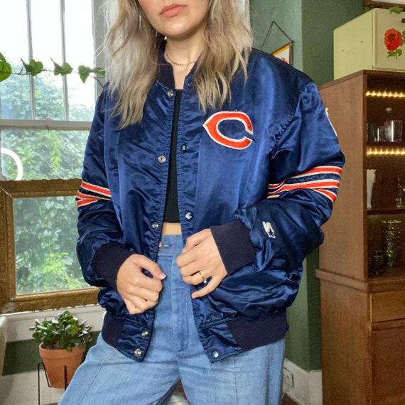 1980s Starter Chicago Bears Bomber Jacket
