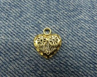 small acrylic heart flower