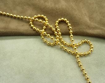 METAL - 0.35 cm - gold chain