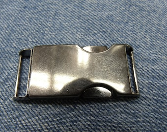 Anthracite METAL belt buckle