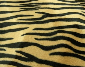Velvet fabrics, 150 cm, honey and black, perfect for all your achievements and creations