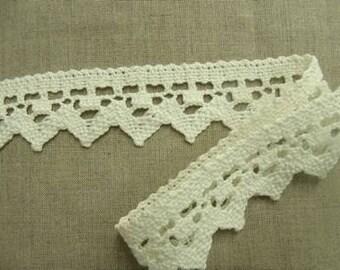 lace white-4.5 cm - cotton