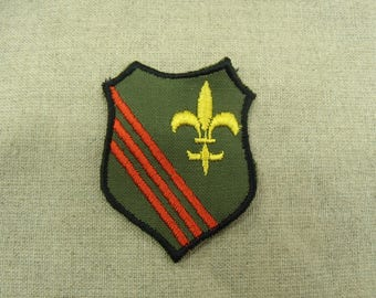 badge military sewing - Khaki, yellow, Red