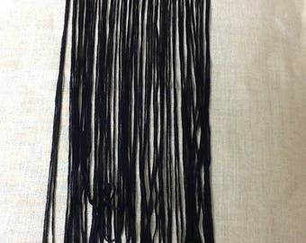 New: Length 60 CM black fringe