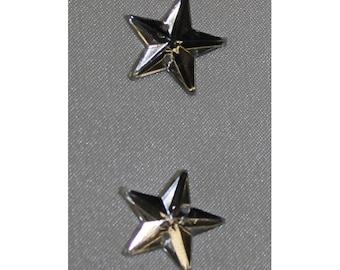looks like Star-16 mm silver rhinestone