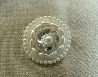 BUTTON/tail Pearl - Pearl Jewelry