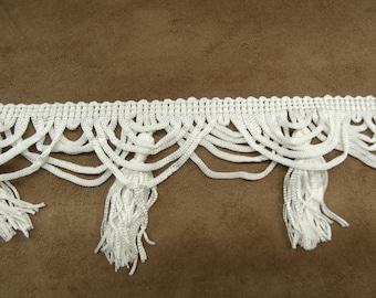 tassel-6 cm - White Ribbon