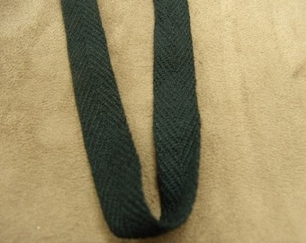 Black Twill tape 15 mm, ideal for decoration, and all seams