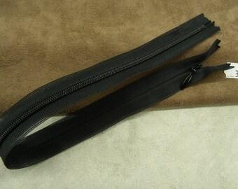 Invisible zipper - 35 cm - black