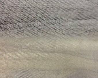 Tulle stiff gray color