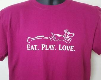 Eat, Play, Love t shirt