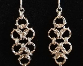 Aura weave earrings