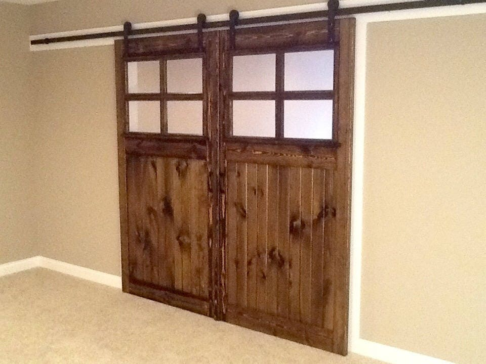 Sliding Barn Door Vintage And Antique Style Farmhouse French