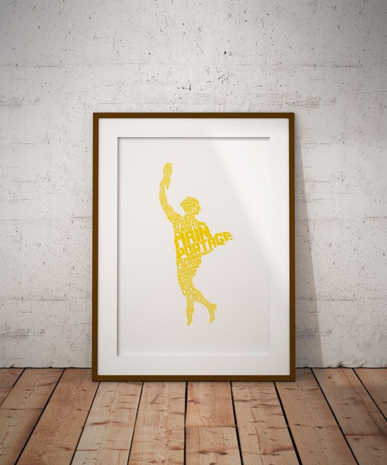 Golden Boy Winnipeg Print image 0