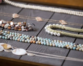 Rustic Jewelry Display Board / Jewelry Holder / Jewelry Sellers / Jewelry Makers