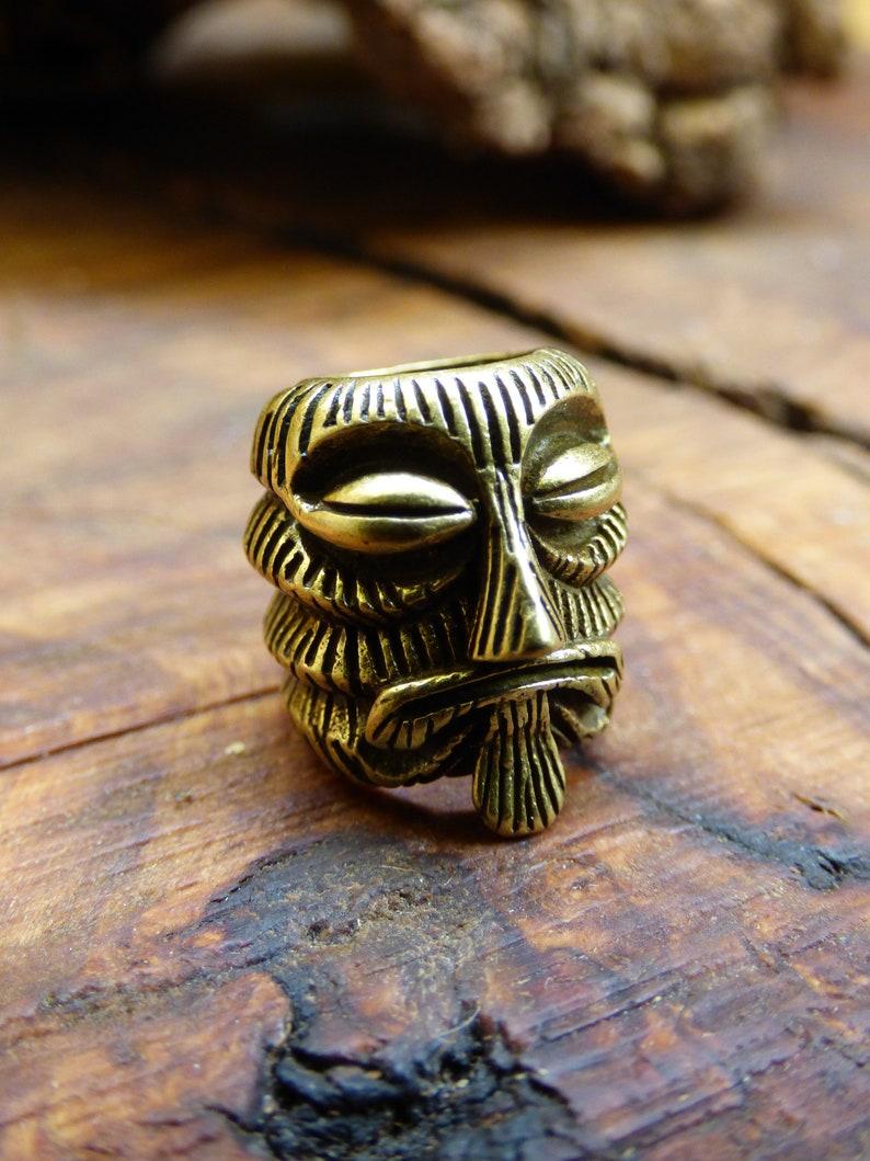 Brass Dreadlock Bead Tibet /'Antique Bronze/' Breads Dreads /'HIPPIE/' GOA /'Boho/' Ethno /'Nature/'/' Indian/'Vintage