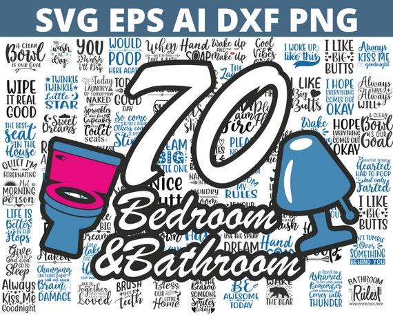 Bathroom Svg Bundle | Bathroom Signs Svg Cut Files | Cricut svg |Bedroom Svg Bundle | Bedroom Signs Svg Cut Files | Cricut svg