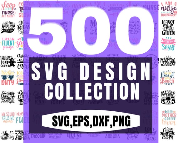 Mega Design Collection is here with 25 premium bundles, cumulating up to 500 unique SVGs