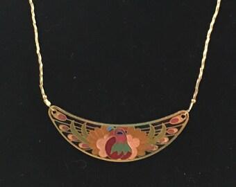 Cloisonné Necklace