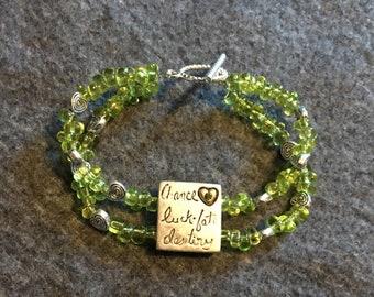 Lucky Sterling Silver Bracelet