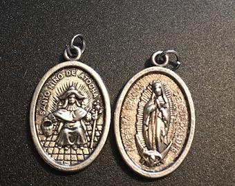 Santo Nino de Atocha medal