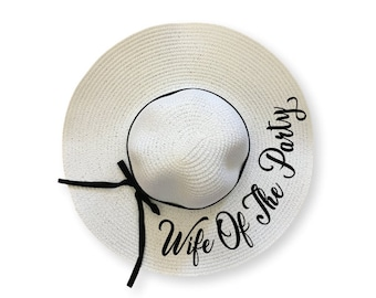 8535035495eda Wife Of The Party beach hat