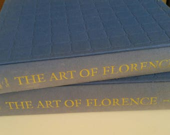 Art of Florence - large format 2 vol. hardcover beautiful color images