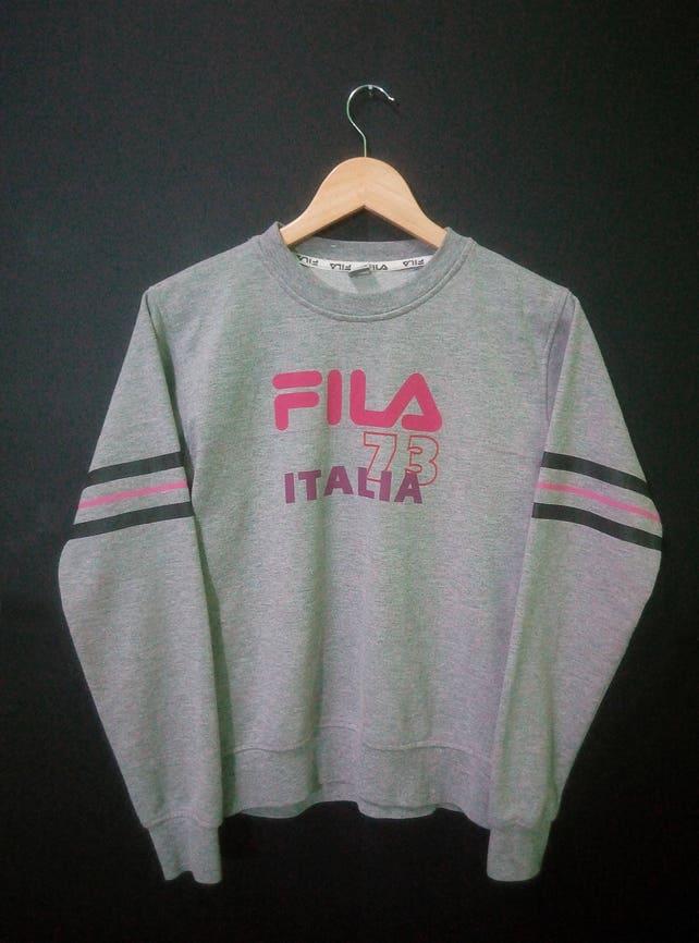 478f5523701d FILA Vintage 80 s 90 s Sweatshirt Sweater Jumper Big