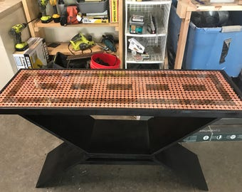 Penny top entry table