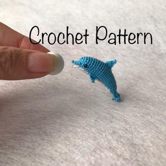 Amigurumi Dolphin Free Crochet Pattern - Sueños Blanditos   570x570